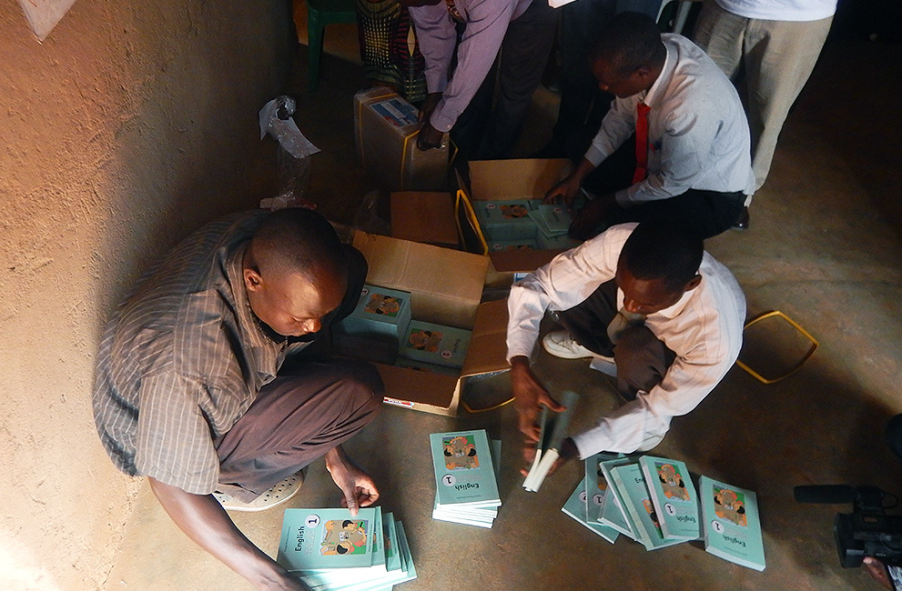 Tracking Textbooks Delivery to Schools